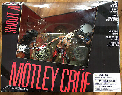 Motley Crue Shout At The Devil Mcfarlane Figures DELUXE EDITION Unopened. BNIB • 229.99£