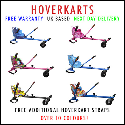 Official Premium Hoverkart Go Kart For Segway Swegway Hoverboard Scooter 2020! • 35.99£