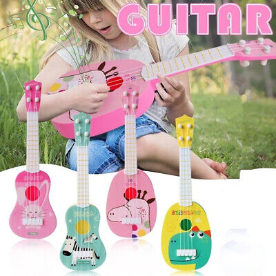 Funny Ukulele Musical Instrument Kids Guitar Montessori Toys Education Gifts • 5.18£