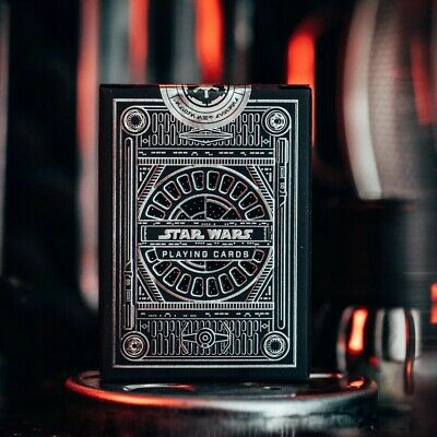 Star Wars Playing Cards - Silver Edition By Theory 11 - Officialy Licensed Deck • 11.95£