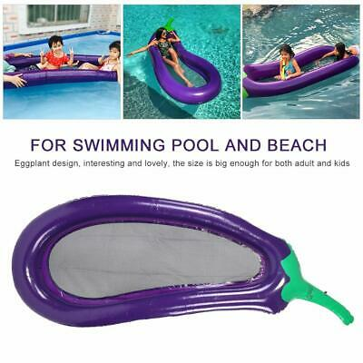 PVC NEW Swimming Pool Inflatable Lounger Air Bed Mattress Beach Raft Float New • 12.99£