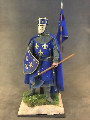 "Custom 12"" King Philip Iv Of France 1/6 Scale Figure.  • 115£"
