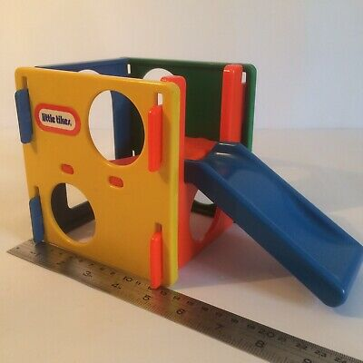 Slide Climbing Frame Little Tikes Dolls House Miniature Good Used Condition • 30£