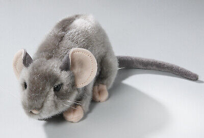New Plush Cuddly Critters Grey Mouse Soft Toy Teddy • 7.99£