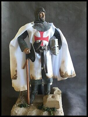 Custom 12  Knights Templar Figure 1/6 Scale. • 85£