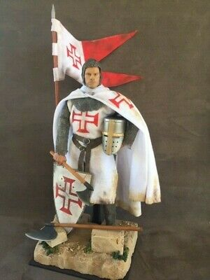 Custom 12  Crusader Knight Of The Order Of Christ Figure 1/6 Scale • 90£
