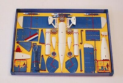Meccano Prewar No 2 Aeroplane Constructor.  Boxed, Instructions And Pilot.  .   • 495£