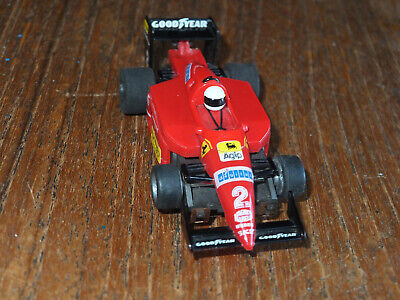 RARE TYCO Ferrari No. 2 POINTED NOSE, 440x2 Chassis, Cleaned  Ho Car Afx Tomy  • 39.99£