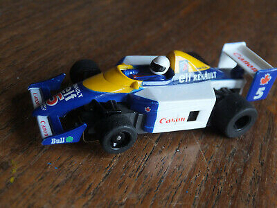 RARE TYCO Williams Labatts Indy F-1 Car, Elf, 440X2 Chassis Cleaned Ho Afx Tomy  • 39.99£
