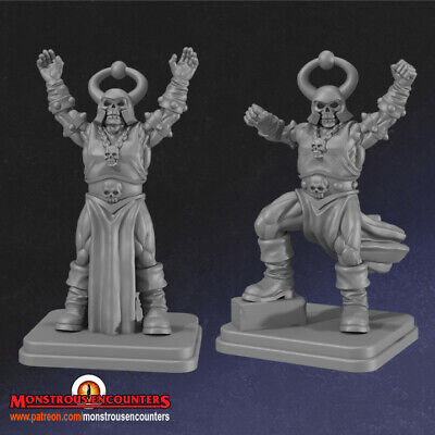 Dark Sorcerers Compatible With Hero Quest, Mordheim, AoS, Warhammer, D&D & RPG • 8£