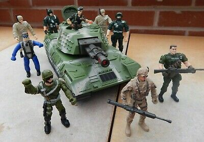 Lanard Army Tank And Platoon Of Soldiers • 16.99£