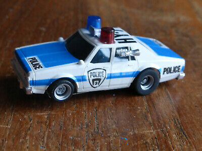Lovely Aurora Police Car W. LIGHTS, CLEAN Chassis, Tyco HO Faller Car AFX TOMY • 29.99£