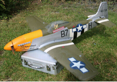 "P51 Mustang ""Ferocious Frankie"" – R/C Electric Ready To Fly • 100£"