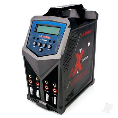 GT Power X4 Quad AC,DC Smart Charger 4 X 100W Output. 1 To 6 Cell Lipo Inc Leads • 161.45£