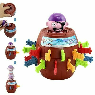 Pirate Game Toy Adults Jumping Kids Pop Up Funny Board Family Super Tricky Games • 4.56£