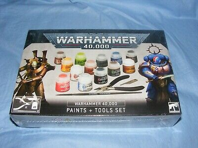 Warhammer 40,000 Paints And Tools Set 60-12 In Stock Brand NEW 2020 • 24.65£