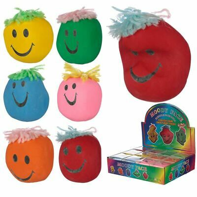 Fun Kids Squeezy Mood Head Pocket Money Party Bag Stocking Filler Stress Toy • 6.76£