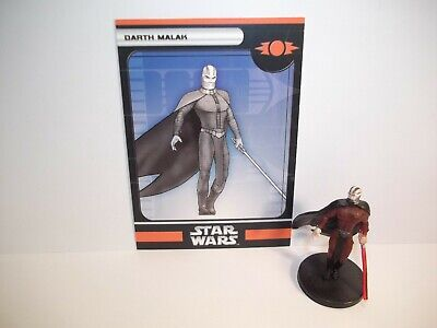 Star Wars Miniatures - Darth Malak 11/60 - Very Rare - Champions Of The Force • 18.99£
