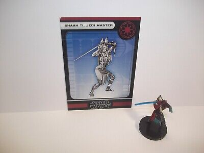 Star Wars Miniatures - Shaak Ti, Jedi Master 3/60 - Very Rare - Force Unleashed • 13.99£