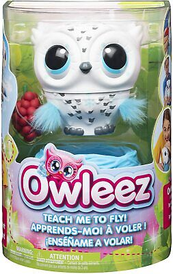 Owleez - Flying Baby Owl Interactive Toy With Lights And Sounds (White) • 18.95£