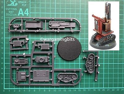 Warhammer 40k Scenery Indomitus Battlezone Objective Lecturn And Dias On Tracks • 7.90£
