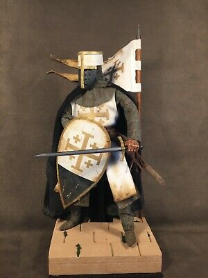 Custom 12  Knight Of The Order Of The Holy Sepulchre Figure 1/6 Scale. • 85£