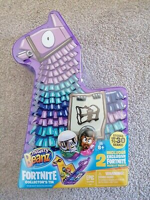 Fortnite Mighty Beanz Brand NEW Bnib Collectors Tin With Beanz Age 8+ Boys Gift • 5.99£