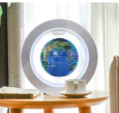 Levitation Floating Globe Rotating Magnetic Suspending World Map Earth Geography • 21.99£