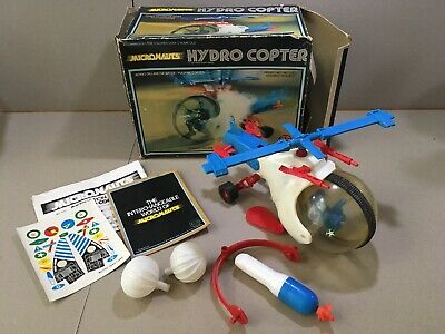 Micronauts - Hydro Copter - 1976 Mego - 100% Complete - Boxed - Working Motor • 16£