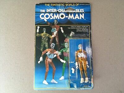 Inter-Changeables - Cosmo-Man - Orange - On Card (Micronauts Time Traveler) • 3£