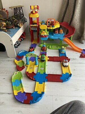 VTech Baby Toot-Toot Drivers Garage Musical With 12 Vehicles • 12.50£