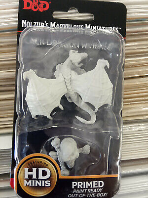 Nolzur`s Marvelous Miniatures Dungeons & Dragons Black Dragon Wyrmling - New • 2.99£