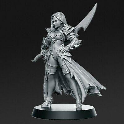 Dalila - Swordswoman Compatible With Mordheim, AoS, Warhammer & DnD • 5£