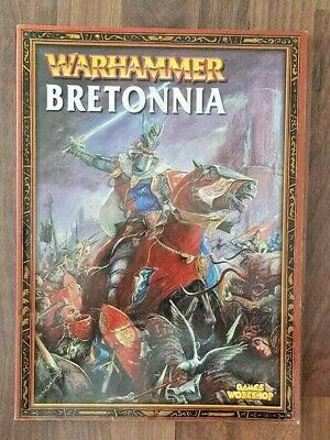 Bretonnia Army Book Warhammer Rulebook Games Workshop Gw Rare Oop  • 35£