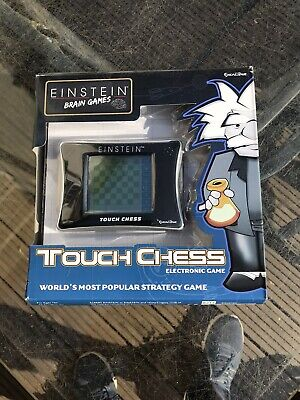 Electronic Chess Excalibur Einstein Touch Chess GAME Sealed Both Ends • 22£