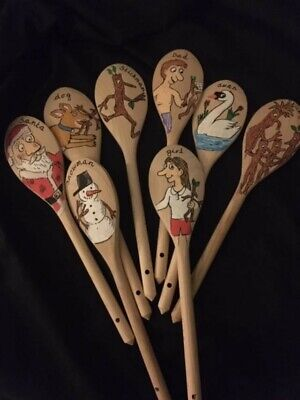 Hand Made Story Spoon Set For Stickman 8 Spoon Set. Brand New • 24£