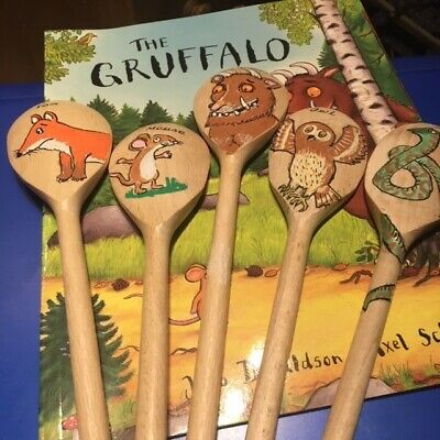 Hand Made Story Spoon Set For The Gruffalo 5 Spoon Set. Brand New • 15£