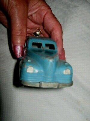 Vintage 1950s Di Cast Blue Car • 6£