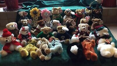 26 +1 FREE RETIRED TY ATTIC BEARS (approx 20cms) New Unused BNWT  • 140£