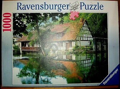 Ravensburger 1000 Piece Jigsaw Puzzle Watermill • 8.99£