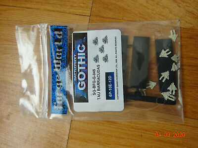 Battlefleet Gothic Forgeworld Tau 10x  Barracudas • 35£