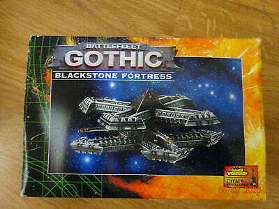 Battlefleet Gothic Blackstone Fortress, New In Box • 50£