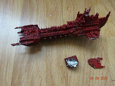 Metal Battlefleet Gothic Space Marine Battlebarge Painted 0 • 46£