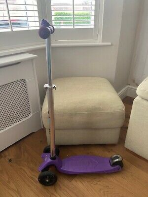 Maxi Micro Scooter - Purple - With Bell • 12.50£