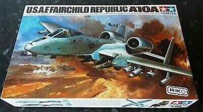 Tamiya   Fairchild Republic  A-10a  1:48 Vintage  Model Kit • 17£