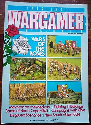 Practical Wargamer Magazine Winter Special Issue Dec 1988/89 War Of The Roses  • 5£