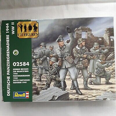 Revell 1/72nd  Scale  WW2 German Infantry 48 Pieces • 1.99£