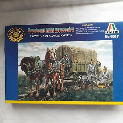 Italeri 1/72nd  Scale Napoleonic War French Supply Convoy Troops • 1.99£