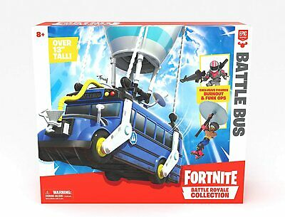 Fortnite Fortnite Battle Royale Collection Battle Bus And 2 Exclusive Figures • 29.95£