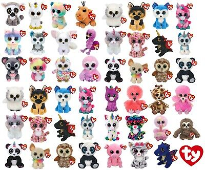Genuine Ty Beanie Boos 6  Plush Soft Toy Teddy Kids Children Gift Birthday Gift • 8.07£